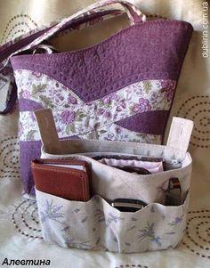 bag liner - Dublirin-Шьем сами - Вкладыш в сумку для мелочей