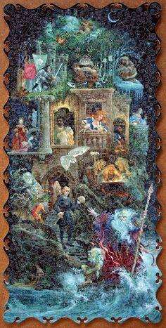 """james christensen art """"Shakespeare fantasy"""""""