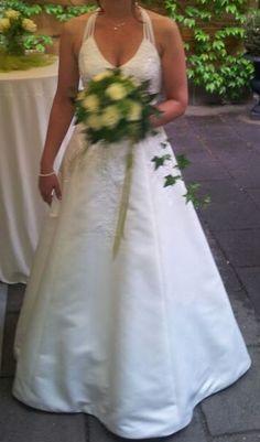 ♥ Neckholder Brautkleid ivory ♥  Ansehen: http://www.brautboerse.de/brautkleidverkaufen/neckholder-brautkleid-ivory/   #Brautkleider #Hochzeit #Wedding
