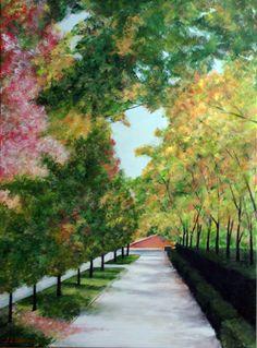 Isabel Ii, Madrid, Sidewalk, Country Roads, Home, Castles, Gardens, Drive Way, Side Walkway