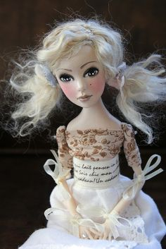 Talvi Art doll by Abi Monroe of Taylor Couture, via Flickr