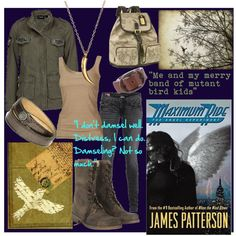 """""""Maximum Ride"""" The Angle Experiment Daughter Of Smoke And Bone, Maximum Ride, Fandom Fashion, James Patterson, Casual Cosplay, The Fault In Our Stars, Fashion Line, Hunger Games, Cool Outfits"""