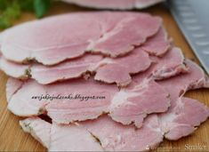 Cold Cuts, Kielbasa, Polish Recipes, Smoking Meat, Special Recipes, Charcuterie, Tapas, Sausage, Pork
