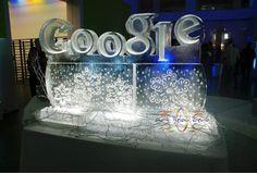 ice sculptures google geeks 1