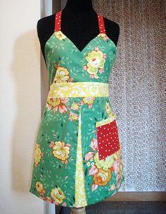 reversible apron #1, front