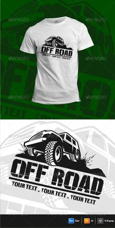 Off Road T-Shirts Template Vector EPS, AI. Download here: http://graphicriver.net/item/off-road-tshirts/6270339?ref=ksioks