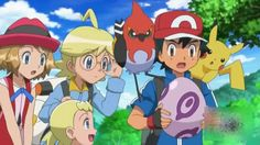 Pokemon : Ash hatching an egg (Welcome Noibat )