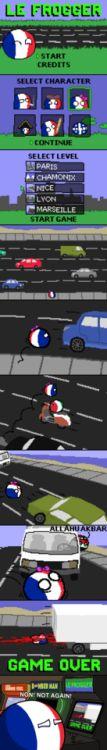Cool Fun and Games in France via reddit