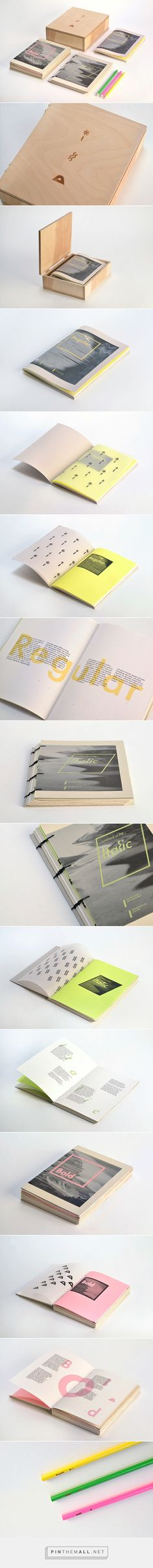 Font Book on Behance