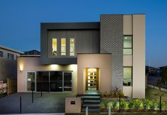 We love a modern and contemporary looking facade! This is the facade of our new display home in Oran Park, Western Sydney