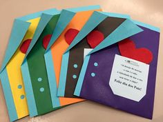 Fathers Day, Inspiration, Inspired, Family Activities, Kids Activity Ideas, Happy Valentines Day Dad, Happy Birthday Greeting Cards, Easy Crafts, Cards