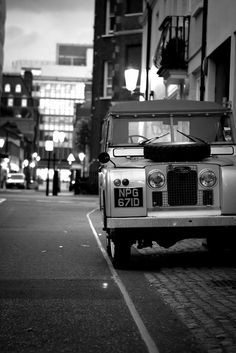 Land Rover Defender, the original rommel stomper