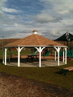 This spacious, beautiful pavilion has found a happy home at the park!  https://www.facebook.com/woodtexoutdoorliving