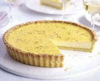 With buttery pastry and a creamy filling, it's no wonder this dish has become a classic, from BBC Good Food magazine. Tart Recipes, Sweet Recipes, Dessert Recipes, Dessert Tarts, Dessert Dishes, Sweet Pie, Sweet Tarts, Yorkshire Recipes, Biscuits