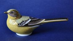 Royal Crown Derby Yellow Wagtail http://www.bwthornton.co.uk/royal-crown-derby.php