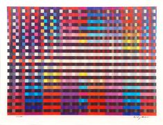 Birthday Rainbow from La Gamme d'Agam Suite, 1993