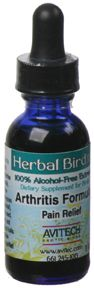Avitech Herbal Bird ARTHRITIS FORMULA - 1 OZ - GotBird.com