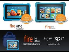 Shop Amazon Devices - Fire Kids Edition Tablet $25 Off Fire Kids, Kid Essentials, Usa Today Sports, Amazon, Youtube, Shop, Amazons, Riding Habit, Youtubers