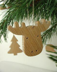 Albero di Natale decorazioni legno decorazioni per di mielasiela