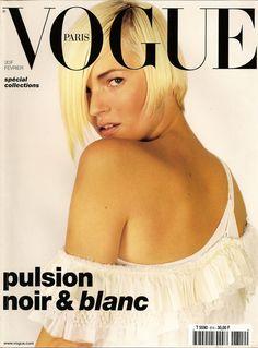 Kate Moss by Mario Testino Vogue Paris February 2001