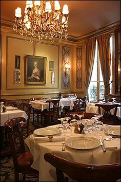 Le Procope restaurant, Paris