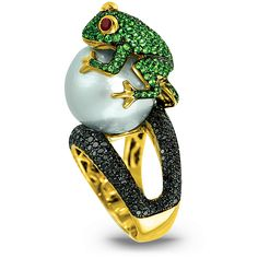 Frog Cocktail Ring | Jacob & Co. | Timepieces | Fine Jewelry | Engagement Rings