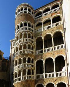 G. Spavento, scala Palazzo Contarini del Bovolo, Venezia