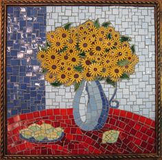 Sunflowers and lemons, Ursula Janke