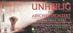 Unheilig Abschiedskonzert @ Köln RheinEnergie Stadion 10.09.2016