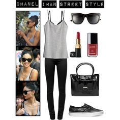 """Chanel Iman Street Style"" by tarinhoogeveen on Polyvore gorge!!"