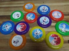 24 Disney Frozen Olaf Mix Mini Frisbees Birthday Party Favor Treat Bags Prize | eBay