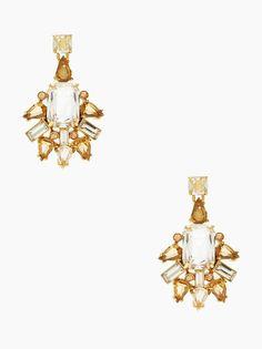 beautiful Kate Spade earrings  http://rstyle.me/n/wqgg6pdpe