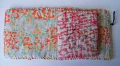 Handmade/stitched Needle case Workshop                     A celebration of the stitch!   A workshop to make a needlecase totally by hand...