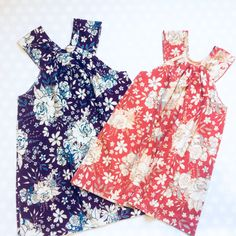 Floral Sister Dresses - Easter Dresses for Girls Girls Fall Dresses, Summer Dresses For Women, Holiday Dresses, Navy Floral Dress, Coral Dress, Baby Girl Drawing, Tank Dress, Floral Tops, Trending Outfits