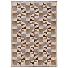 Vintage Swedish Kilim | From a unique collection of antique and modern russian and scandinavian rugs at https://www.1stdibs.com/furniture/rugs-carpets/russian-scandinavian-rugs/