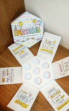 Lettering Tutorial, Cardcaptor Sakura, Love Is Sweet, Creative Gifts, Diy Gifts, Crochet, Origami, Diy And Crafts, Scrapbook