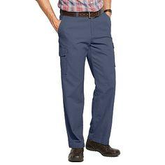 Croft & Barrow® Canvas Flat-Front Cargo Pants - Men
