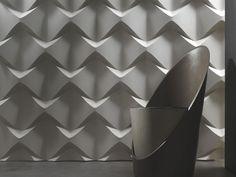Painel de parede 3D CAOS by 3D Surface | design Jacopo Cecchi, Romano Zenoni
