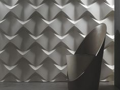 Panneau mural 3D CAOS by 3D Surface | design Jacopo Cecchi, Romano Zenoni