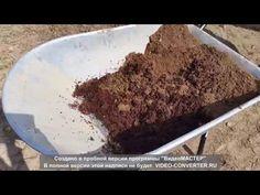 Использование кокосового грунта для грядки - YouTube