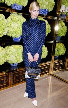 Jaime King in Tory Burch at the Tory Burch Rodeo Drive store opening, by Justin Campbell/Getty Images