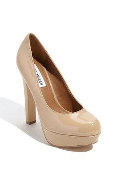 beige shoes!