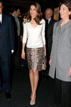 Las mejor vestidas de la semana - Letizia de España