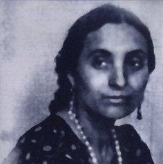 Gypsy Poet Bronisława Wajs, aka by her Romani name Papusza; among Most Famous Romani Poets ever known. Grew up nomadically w/ family in Poland, literate, unusual for Polska Roma at time. Learned to read trading chickens in exchange for lessons w/ local villagers. If found reading - beaten & book destroyed. Married in traditional ceremony at 15 to much older & revered harpist named Dionizy Wajs. Read more on Wikipedia.