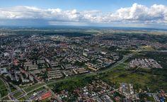Widok na ul. Piastowską #Białystok #Panorama #Piasta #Bialystok /fot. Dawid Gromadzki