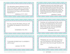 Free Family Verse Cards - Help your kids memorize scripture with these 26 Bible verses every child should know. Description from pinterest.com. I searched for this on bing.com/images