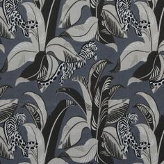 Jungalow Fabric - Jet