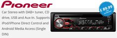 Pioneer DEH-4700DAB DAB+ Tuner iPod Android Car Stereo + AERIAL !