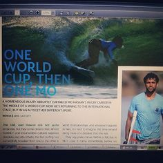 Mohammed Rahma becomes first Emirati surfer to participate in ISA World Surfing Championship to be held in October 2014 PHOTO: mo_rahma Etihad Airways inflight magazine