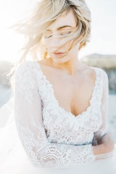 Ethereal Ocean Elopement Styled Shoot